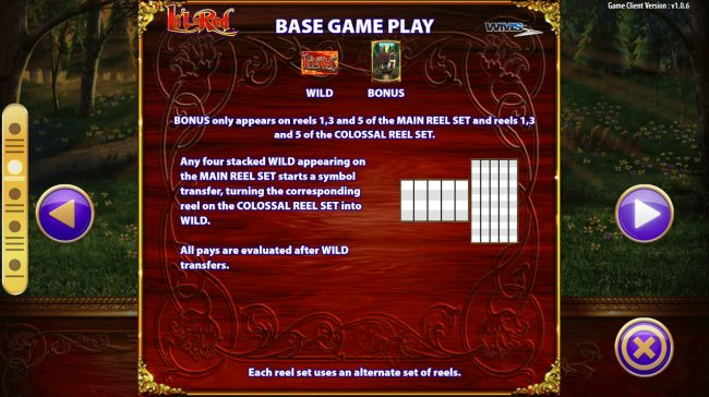 Play slots at Moon Games: Moon Games featuring the Video Slots Li'l Red with a maximum payout of $250,000