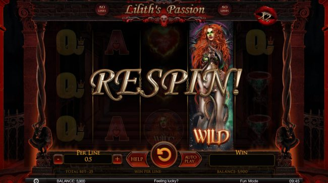 Play slots at 24K Casino: 24K Casino featuring the Video Slots Lilith's Passion with a maximum payout of $100,000