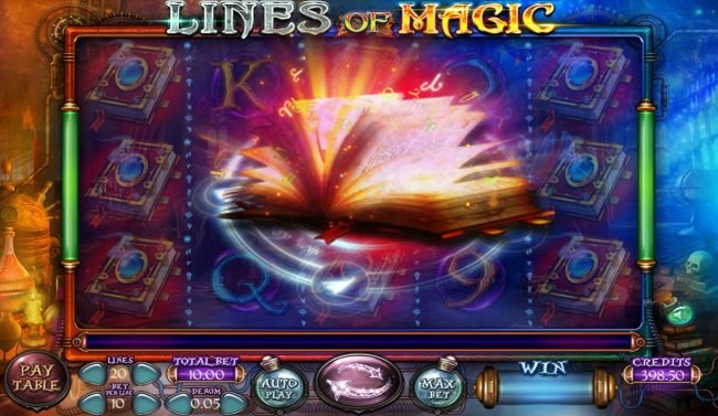 lines of Magic :: Feature triggered