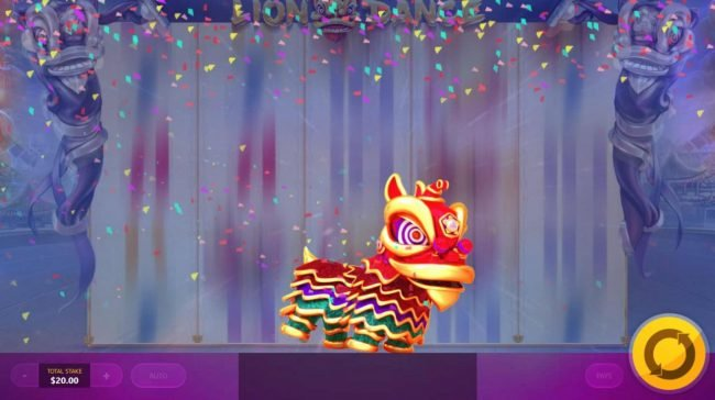 Lion Dance :: The Random Lion Dance can appear at any time during a spin.