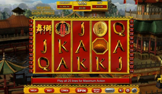 Play slots at Wicked Jackpots: Wicked Jackpots featuring the Video Slots Lion dance with a maximum payout of $32,000