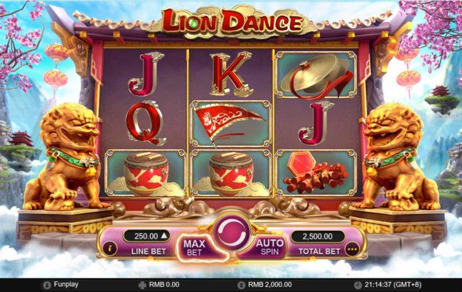 Lion Dance :: Main Game Board