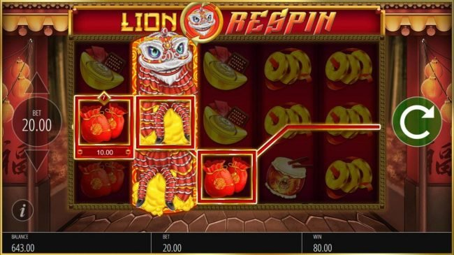 Dream Vegas featuring the Video Slots Lion Festival with a maximum payout of $50,000