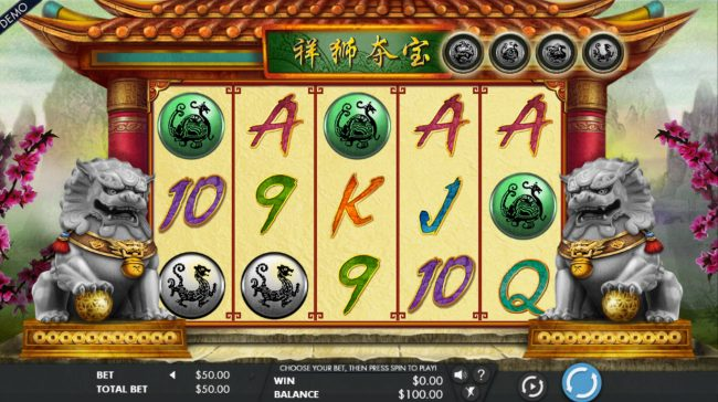 All Jackpots featuring the Video Slots Lion's Fortune with a maximum payout of $150,000
