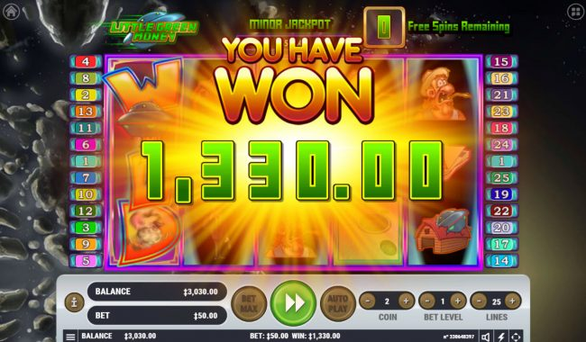 Zet Casino featuring the Video Slots Little Green Money with a maximum payout of $2,500,000