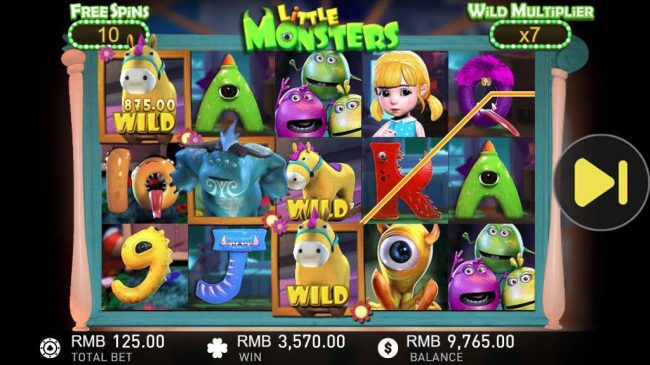 Play 24 Bet featuring the Video Slots Little Monsters with a maximum payout of $50,000