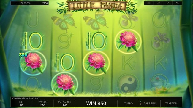 Campeon featuring the Video Slots Little Panda with a maximum payout of $80,000