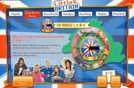 Vegas Winner featuring the Video Slots Little Britain with a maximum payout of 1,000x