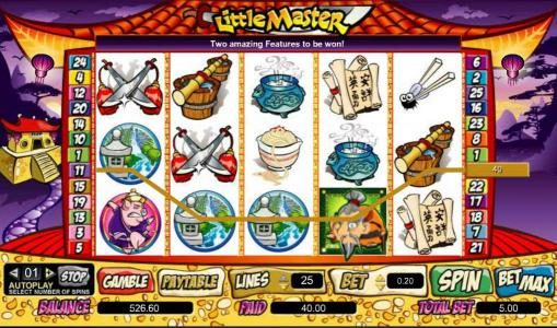 Stan James featuring the Video Slots Little Master with a maximum payout of $100,000