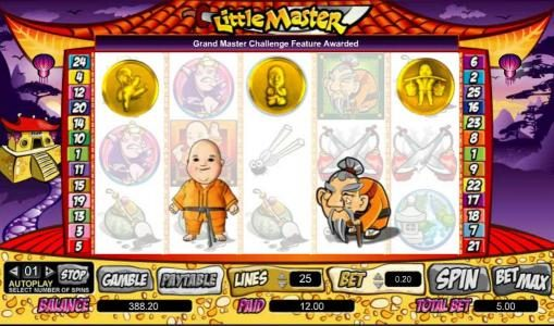 Slots Magic featuring the Video Slots Little Master with a maximum payout of $100,000