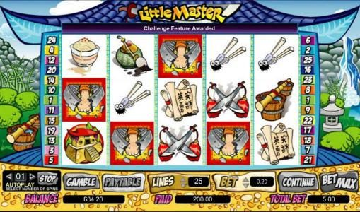 Casiplay featuring the Video Slots Little Master with a maximum payout of $100,000