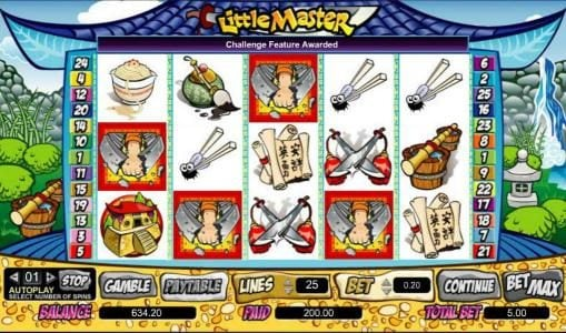 888 Casino featuring the Video Slots Little Master with a maximum payout of $100,000