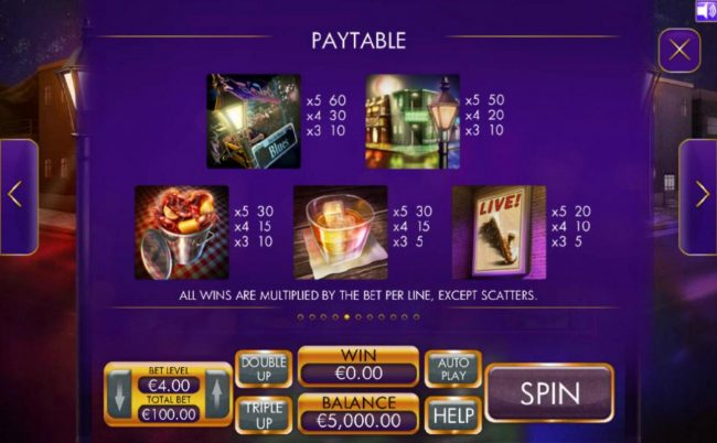 Play slots at Fluffy Spins: Fluffy Spins featuring the Video Slots Live Jazz with a maximum payout of $4,000