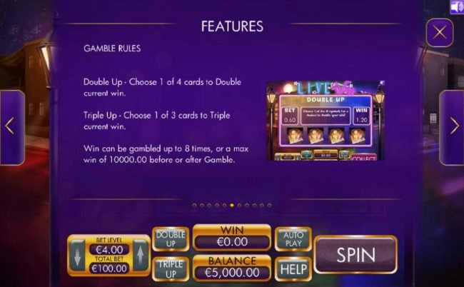 Jetbull featuring the Video Slots Live Jazz with a maximum payout of $4,000