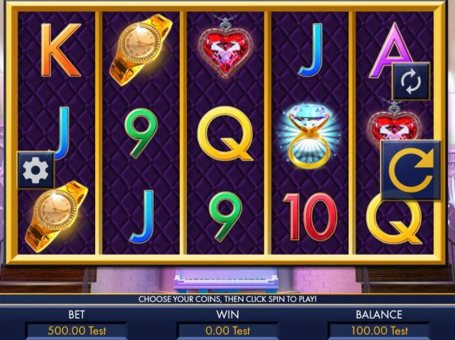 All Jackpots featuring the Video Slots Livin' Luxurious with a maximum payout of $40,000
