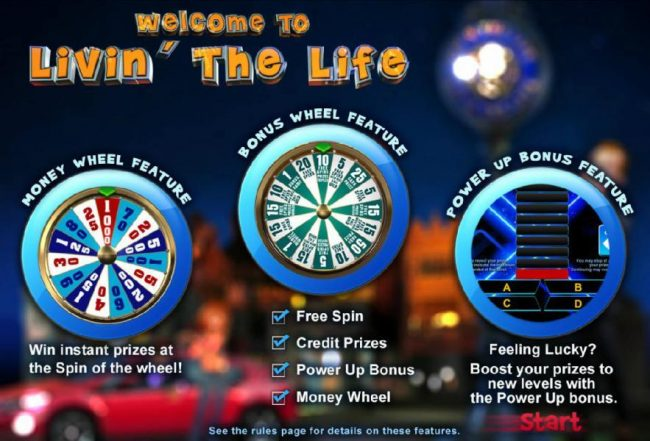 Lincoln featuring the Video Slots Livin' the Life with a maximum payout of $200,000