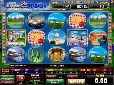 Play slots at Casinoval: Casinoval featuring the Video Slots Living the Dream with a maximum payout of $2,500