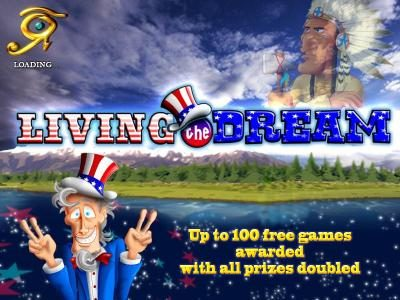 Casinoval featuring the Video Slots Living the Dream with a maximum payout of $2,500