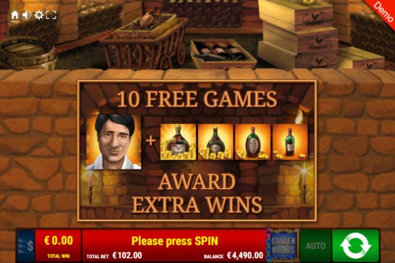 La Dolce Vita Golden Nights Bonus :: 10 Free Spins Awarded