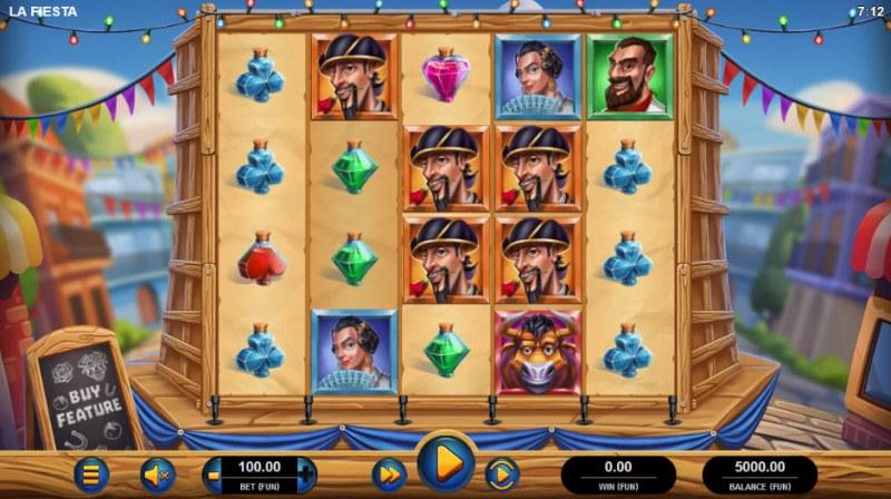 La Fiesta :: Main Game Board
