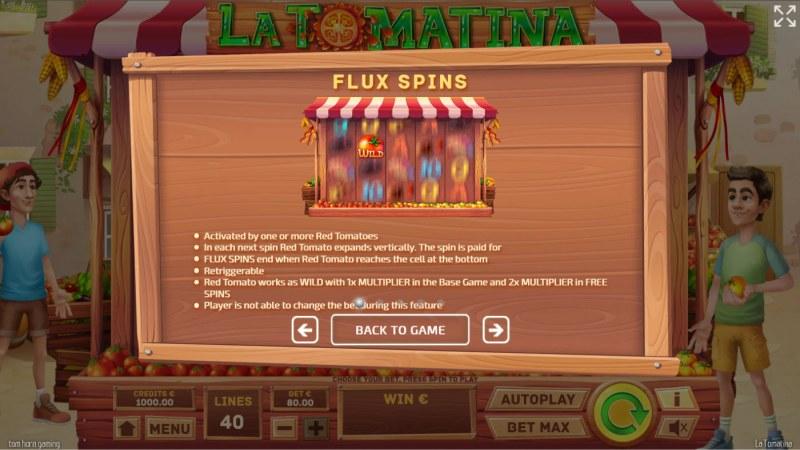 La Tomatina :: Flux Spins