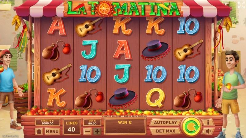 La Tomatina :: Base Game Screen