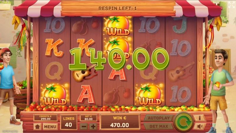 La Tomatina :: Multiple winning paylines