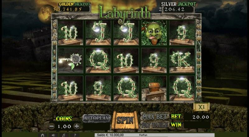 Labyrinth :: Main Game Board
