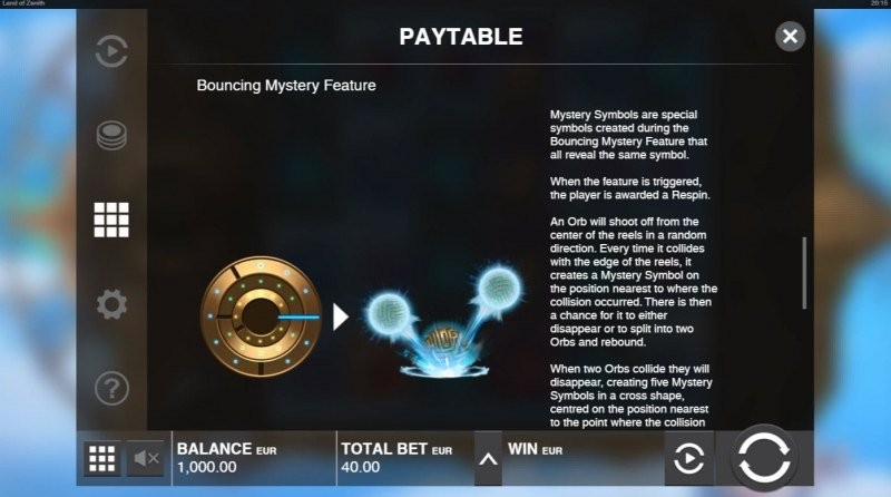 Land of Zenith :: Bouncing Mystery Feature