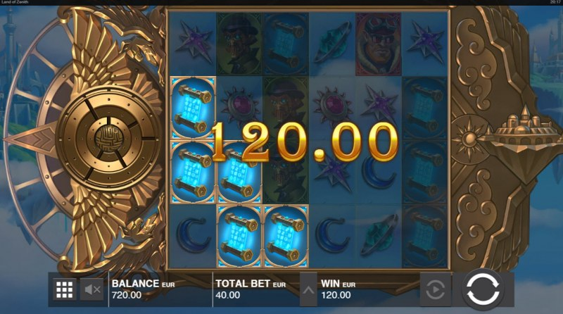 Land of Zenith :: Multiple winning combinations