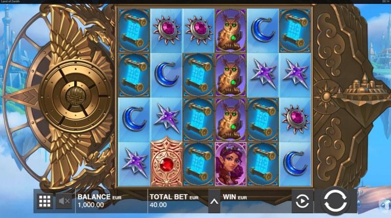 Land of Zenith :: Main Game Board