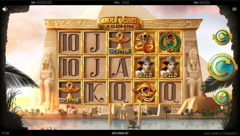 Lara Jones is Cleopatra II :: Main Game Board