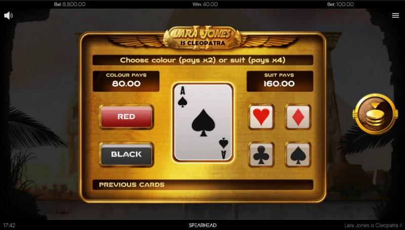 Lara Jones is Cleopatra II :: Gamble feature