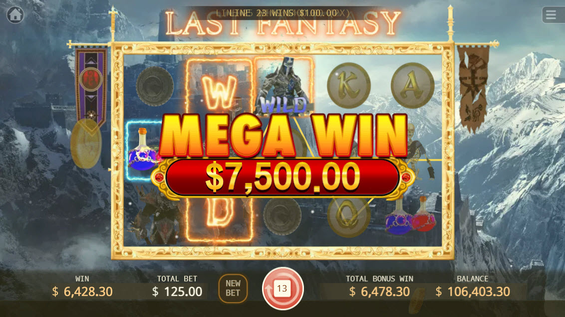 Last Fantasy :: Mega Win
