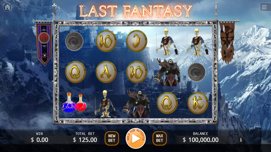 Last Fantasy :: Main Game Board