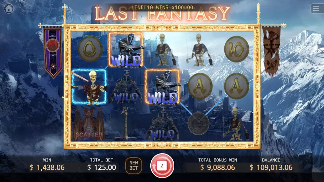 Last Fantasy :: Three of a kind