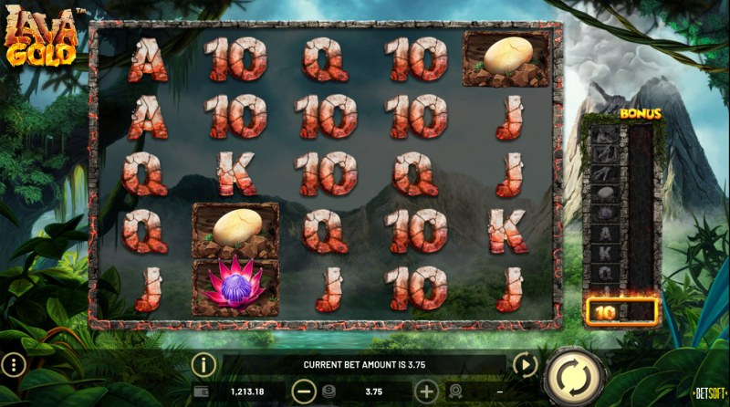 Lava Gold :: Main Game Board