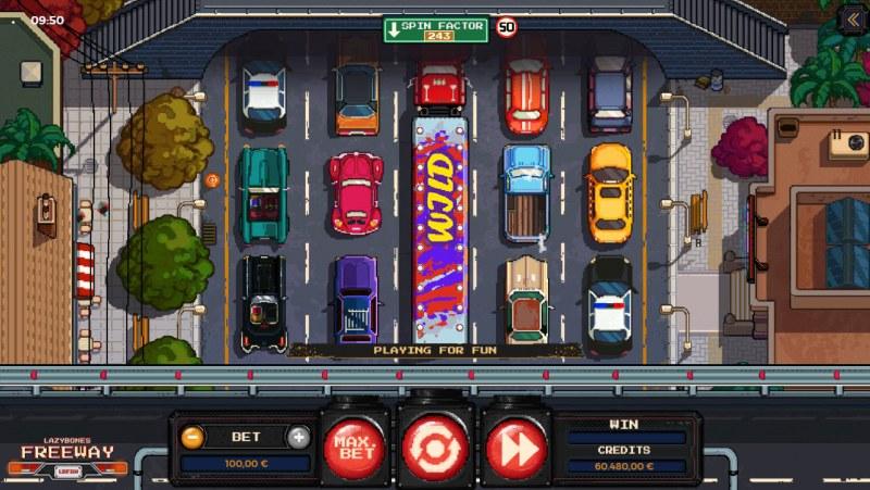Lazy Bones Freeway :: Main Game Board