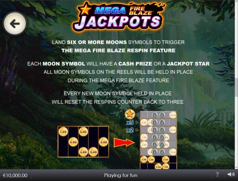 Legacy of the Tiger :: Jackpot Rules