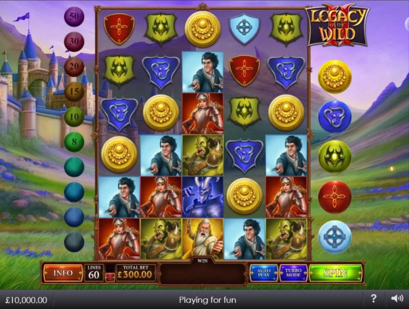 Legacy of the Wild II :: Main Game Board
