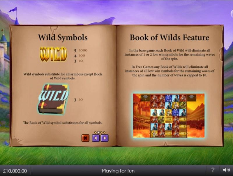 Legacy of the Wild II :: Wild Symbol Rules