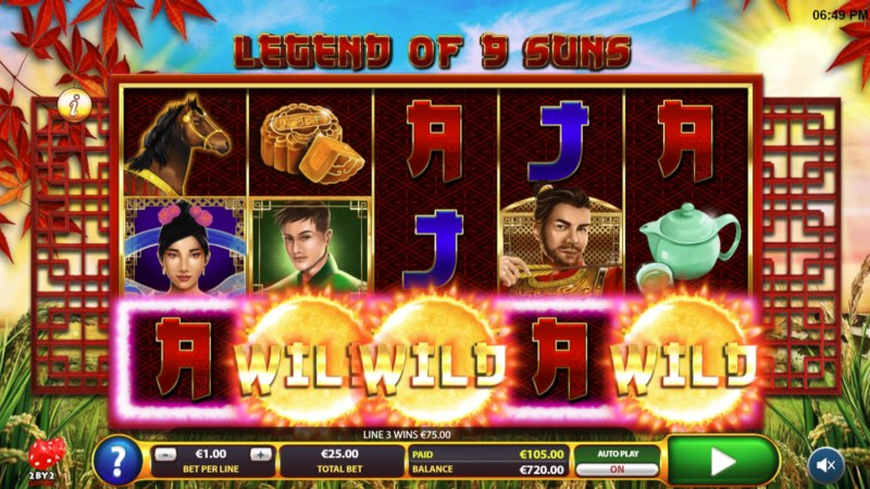 Legend of 9 Suns :: Five of a kind