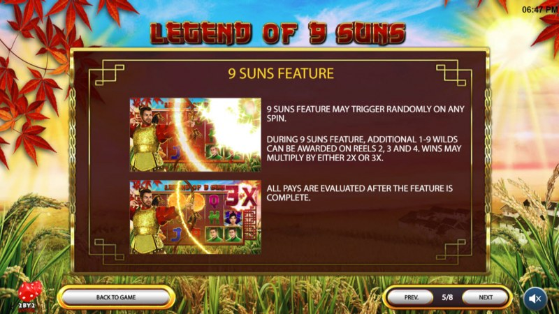 Legend of 9 Suns :: Feature Rules