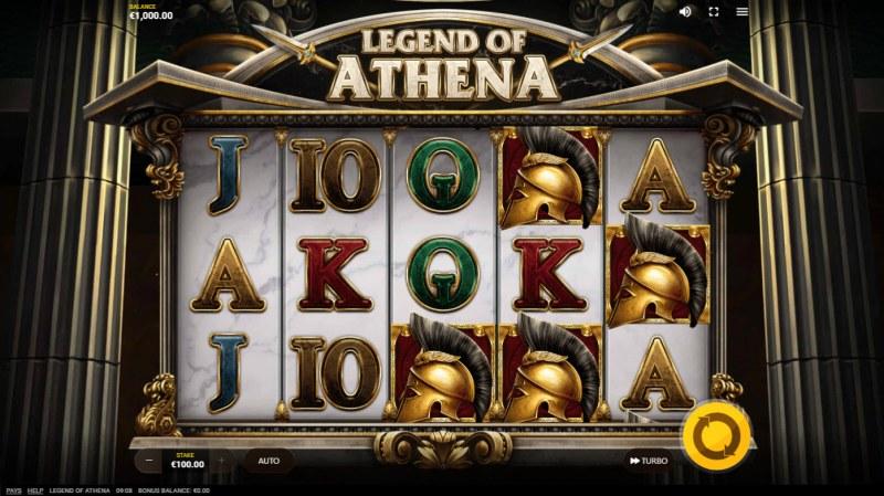 Legend of Athena :: Main Game Board