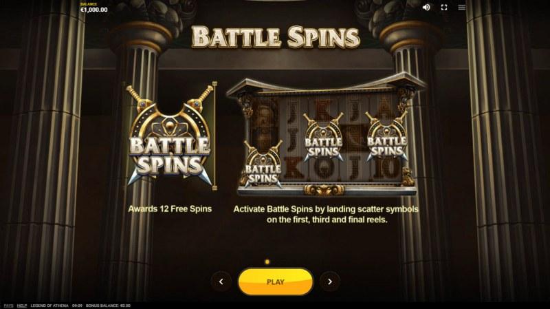 Legend of Athena :: Battle Spins