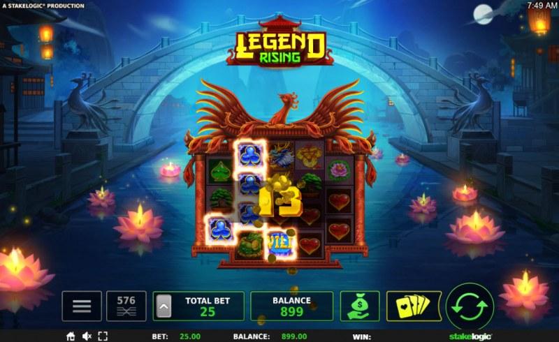 Legend Rising :: Three of a kind