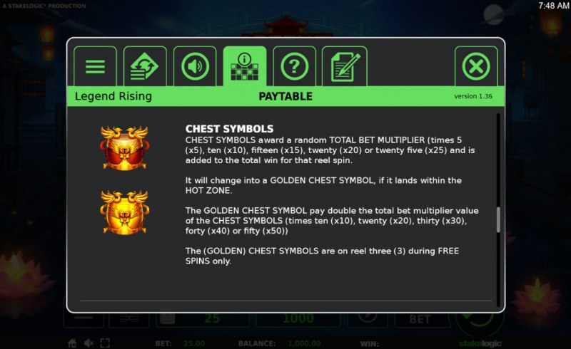 Legend Rising :: Chest Symbols