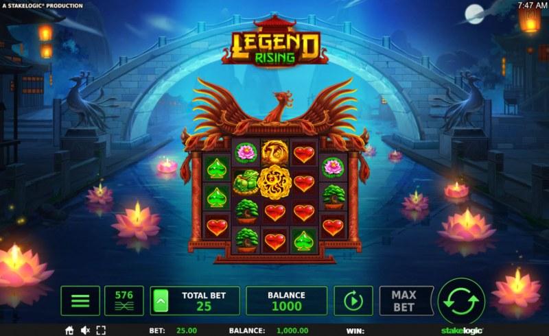 Legend Rising :: Main Game Board
