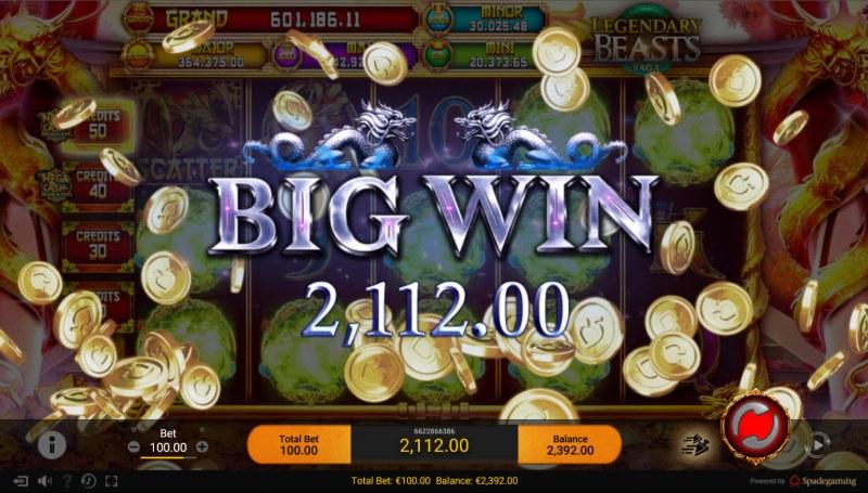 Legendary Beasts Saga :: Big Win