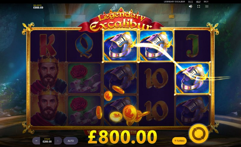 Legendary Excalibur :: Game pays in both directions